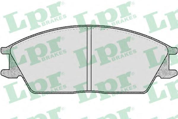 05P364 Колодки тормозные HYUNDAI ACCENT/GETZ передние