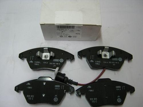 3C0698151C Колодки тормозные передние СС