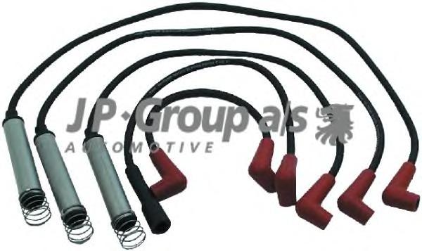 1292001210 Провода высоковольтные, комплект / OPEL Vectra A 1,6 NZ