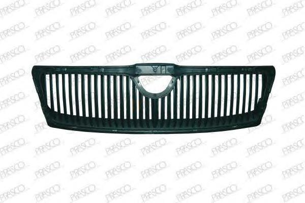 SK0242001 Решетка радиатора, без эмблемы / SKODA Octavia-II 04/04~