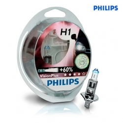12258VPS2 Лампа H1 VisionPlus 12V 55W P14.5s (компл.2шт)