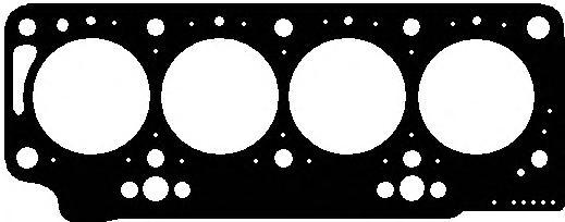 219861 Прокладка ГБЦ RENAULT/VOLVO 1.9D 1.60mm 3метки 90-
