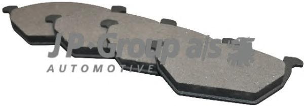 1163600910 Колодки тормозные дисковые передние / AUDI A-2,A-3;SEAT,SKODA Fabia,Octavia,Roomster;VW Bora,Golf-IV,Polo (без датчик