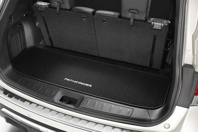 KE8403J000 Коврик багаж.NISSAN PATHFINDER R52R ворс за 3-ий ряд