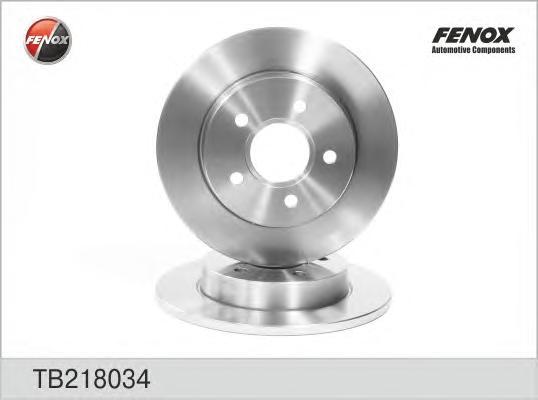TB218034 Диск тормозной FORD FOCUS II 04/C-MAX 1.6/1.8/2.0/2.0D 04 задний