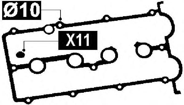 56031100 Прокладка крышки ГБЦ (в комплекте)
