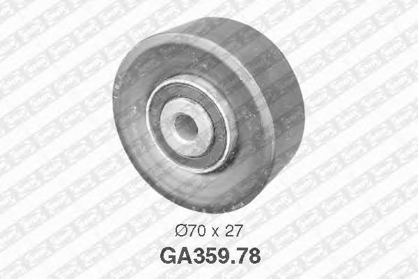GA35978 Ролик натяжной поликлинового ремня PEUGEOT: 206, CITROEN: Xsara Picasso, Xsara