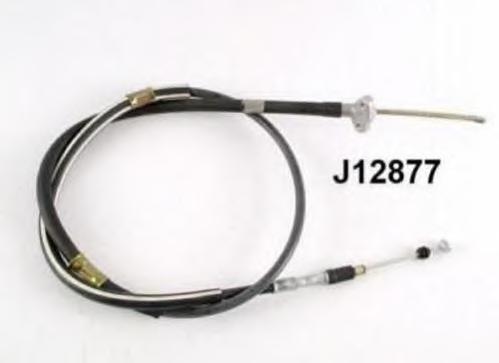 J12877 Трос ручного тормоза TOYOTA CAMRY 91- лев.