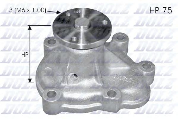 O142 Насос водяной Opel Astra/Corsa/Combo/Meriva 1.7Di/DTi 00-