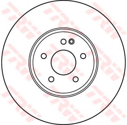 DF6074S Диск тормозной MERCEDES W210 430T 4-matic/C208 430 передний вент.D=330мм.