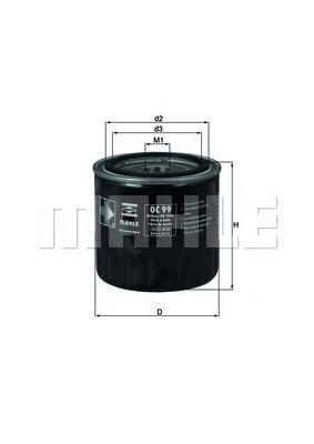OC99 Фильтр масляный RENAULT 21/25/ESPACE/LAGUNA