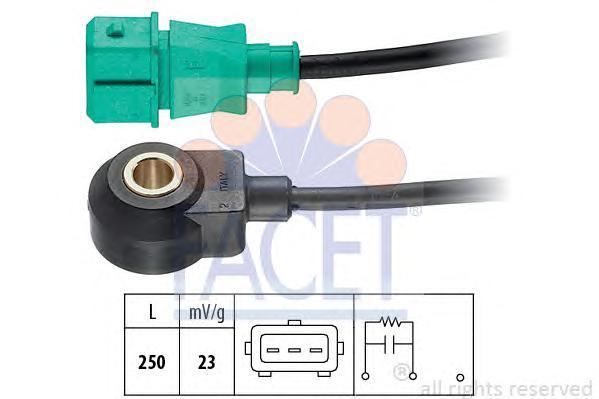 93004 Датчик детонации CITROEN: C5 (DC_) 3.0 V6 (DCXFXC, DCXFXF) 01-04, C5 (RC_) 3.0 V6 (RCXFUF) 04-, C5 (RD_) 3.0/3.0 V6 08-, C