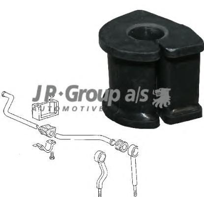 1140605600 Втулка переднего стабилизатора 19mm / VW Transporter T-2 79~