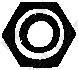 258040 Гайка приемной трубы M10