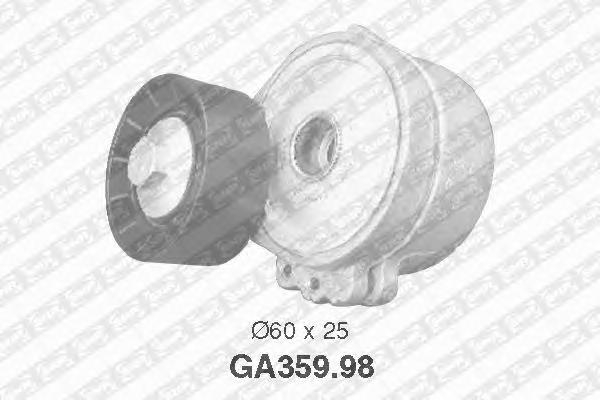 GA35998 Натяжитель ремня приводного PEUGEOT BOXER/FIAT DUCATO 2.0D-2.2D 01 с конд.