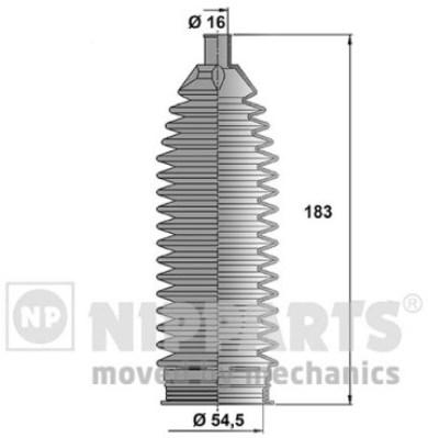 N2840512 Пыльник рулевой рейки HYUNDAI IX35 10-/KIA CARNIVAL/SORENTO/SPORTAGE