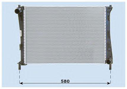 1325831 Радиатор охлаждения двигателя / FORD Fiesta,Fusion Zetec-S