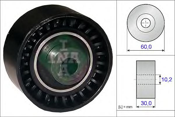 532028910 Ролик ремня ГРМ CITROEN C5/PEUGEOT 206-807 1.8-2.2