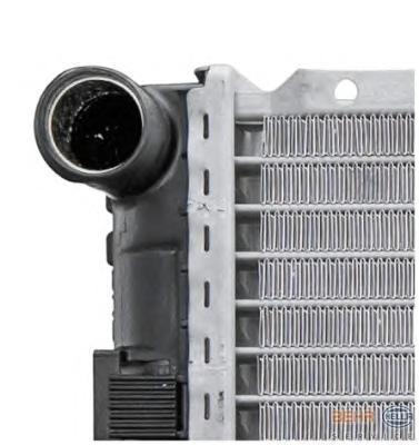 8mk376712291 Радиатор, охлаждение двигател-автомобиля