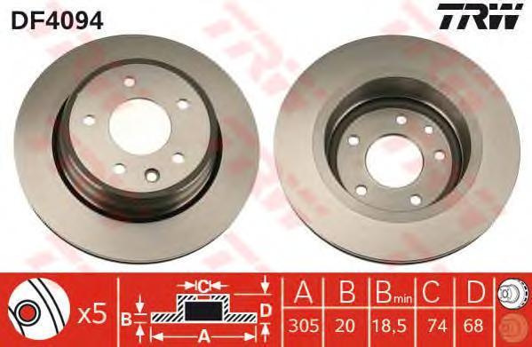 df4094 Тормозной диск