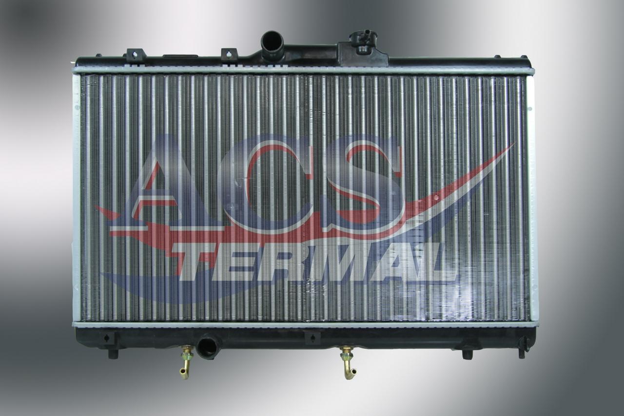 284868H Радиатор TOYOTA COROLLA 1.3-1.6L E10,E11 АКПП АС+/- 92-00