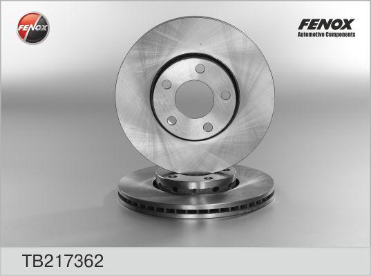 TB217362 Диск тормозной AUDI 100 91/A4 9508/A6 9505/VW PASSAT 9700 передний вент.