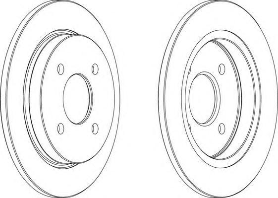 ddf281 Тормозной диск