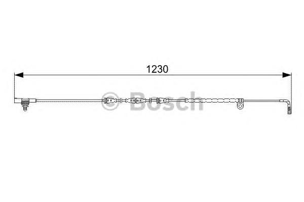 1987473022 Датчик износа торм.колодок RANGE ROVER 05-