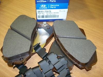 581012SA70 Колодки тормозные передние IX35 (с 15/04/2010 по 02/04/2013)