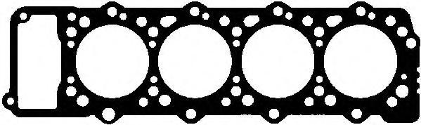 10095600 Прокладка ГБЦ MITSUBISHI PAJERO 2.8D 4M40 1.45мм 4метки 93-00