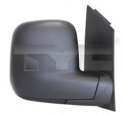 PMG4047M02 Зеркало наружное прав,ручн, выпукл VW: CADDY - 04-2010, TRANSPORTER T5 - 2003-09