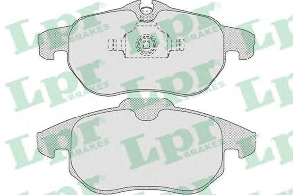 05P814 Колодки тормозные OPEL SIGNUM 03/VECTRA C 1.6-3.0/ASTRA H VXR передние