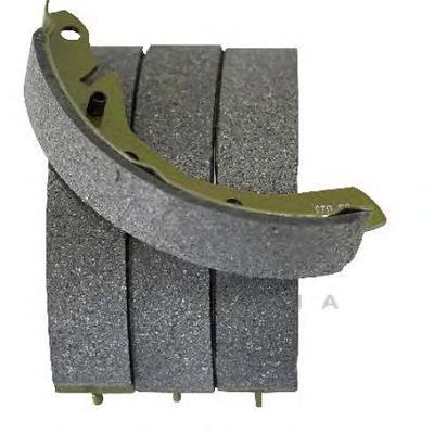 53041 Колодки торм.бар.CHEVROLET SPARK 0.8-1.0 05-/DAEWOO MATIZ 0.8-1.0 98-