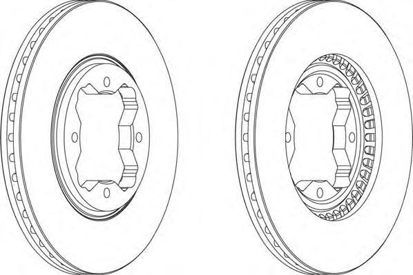ddf494 Тормозной диск