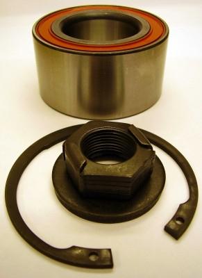 1112547 Подшипник ступицы переднего колеса / FORD Fiesta-V, Focus-I, Fusion (без ABS) 98~