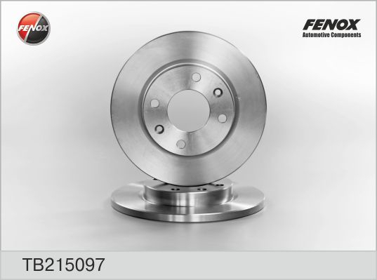 TB215097 Диск тормозной CITROEN XSARA 97-05/PEUGEOT 206 98-/306 93-01 передний не вент.