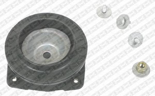 KB65527 Опора амортизатора NISSAN/RENAULT MICRA III/CLIO III пер.прав.(с подшипником)