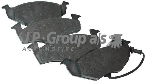 1163603110 Колодки тормозные дисковые передние с датчиками / Skoda Fabia;VW Polo 01/02~