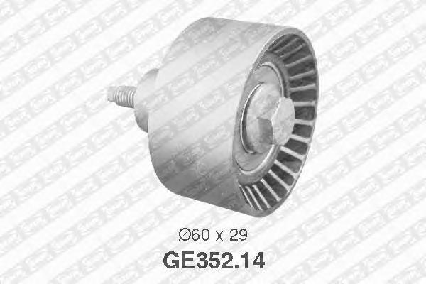 GE35214 Ролик ремня ГРМ FORD MONDEO/FOCUS 1.6-2.0 -04