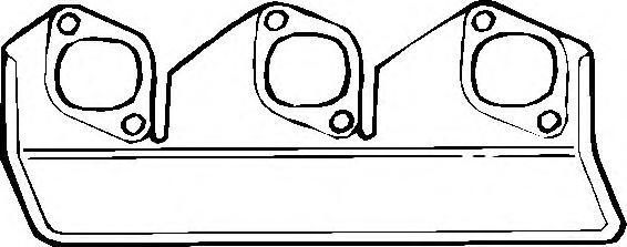 762199 Прокладка выпуск.коллектора BMW M30 80-94
