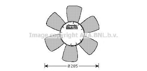 vw7523 Вентилятор, охлаждение двигателя