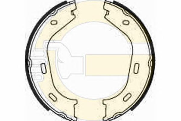5182182 Колодки ст.торм.MB W115/W123/W116/W126 70-91