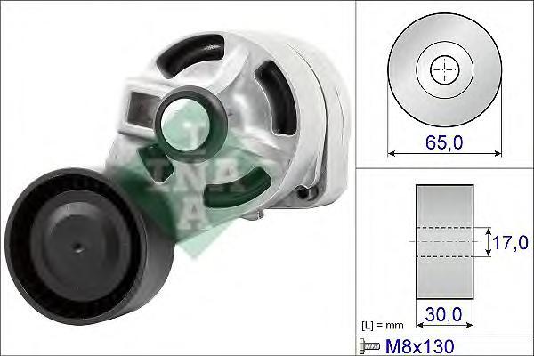 534043410 Натяжитель ремня приводного FORD TRANSIT 2.4D/3.2D 06-