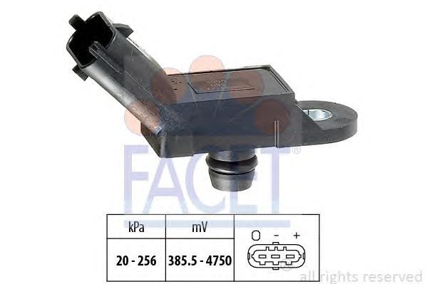 103055 Датчик давления воздуха ALFA ROMEO: 147 (937) 1.9 JTD/1.9 JTD (937AXD1A) 01-, 156 (932) 1.9 JTD (932A2B, 932A2C)/1.9 JTD