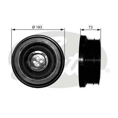 TVD1050 Шкив коленвала BMW 3(E46/E90)/5(E60)/X3(E83)