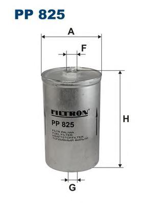 PP825 Фильтр топливный FORD/VOLVO/SAAB