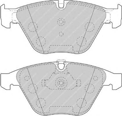 FDB4191 Колодки тормозные BMW 3 E90/E91/X1 E84 передние