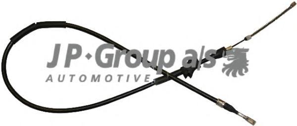 1170306680 Трос ручного тормоза правый / AUDI 80 (бараб тормоза) 86-91