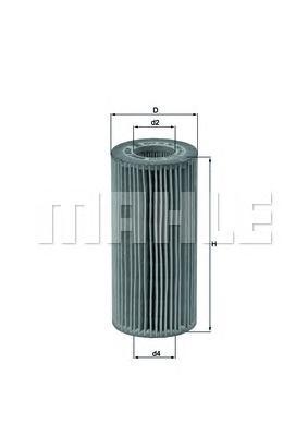 OX383D Фильтр масляный MB W220 S600 98-