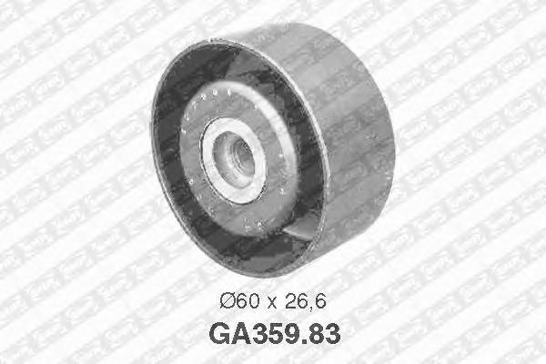 GA35983 Ролик натяжной поликлинового ремня PEUGEOT: Expert, Partner, 306, Ranch, 206, CITROEN: Xsara, Dispatch, Berlingo, Jumpy